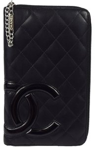 Chanel Wallet Cambon Quilted Zippy