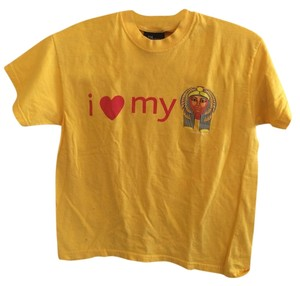 British museum T Shirt Yellow