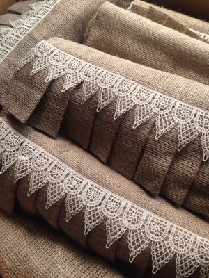 25 count 1 ft x 9 ft natural burlap table runners with for 10 ft table runner