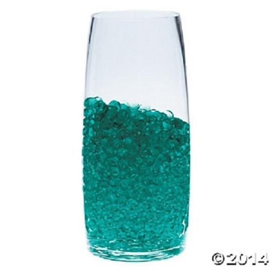 Teal Turquoise - Water Pearl Centerpiece Fill Out Vase Filler