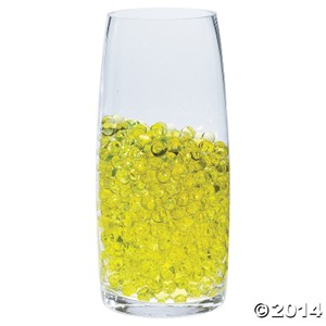 Yellow - 100g Water Pearl Wedding Centerpiece Fill Out Vase Filler