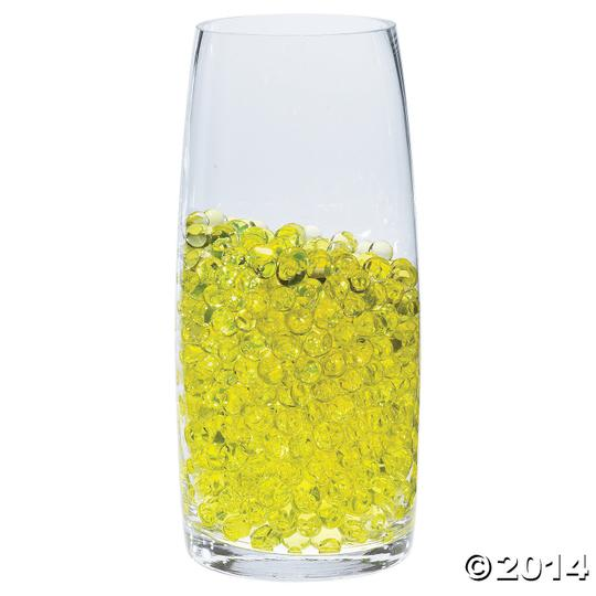 Yellow Water Pearl Wedding Centerpiece Fill Out Vase Filler