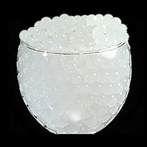 White - 100g Water Pearl Wedding Centerpiece Fill Out Vase Filler