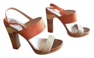Vince Camuto Peach/Bone/ Multi Sandals