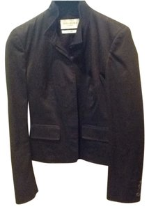 Saint Laurent Vintage Couture French Blazer Black Jacket