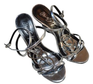 Miss Sixty Silver Silver, black Sandals