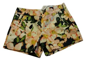 J.Crew Cropped Print Mini/Short Shorts Multi Floral