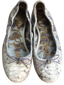 Sam Edelman Tan, cream, brown gray Flats
