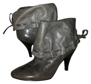 Nine West Buttery Soft Leather Gray Boots