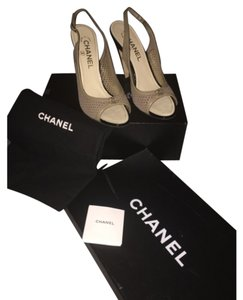 Chanel Brown taupe Formal