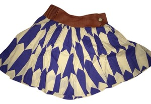 FEI Skirt White, Blue, Orane