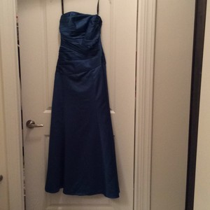 Alfred Angelo Teal Dress