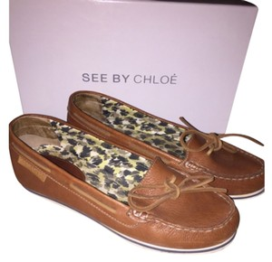See by Chloé Beige/Tan Flats