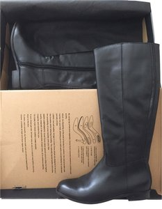 Corso Como Knee High Leather Riding black Boots