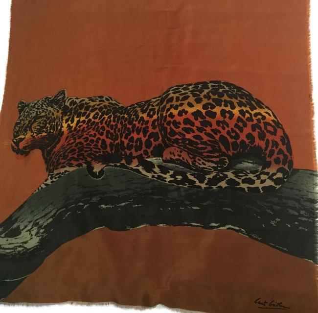 Item - Silk Leopard Animal Scarf/Wrap