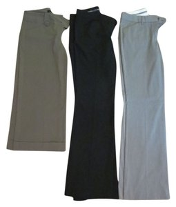 Express Boot Cut Pants Black, Grey, Neutral Green