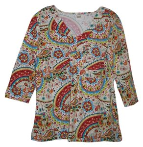 Christopher & Banks T Shirt Multi
