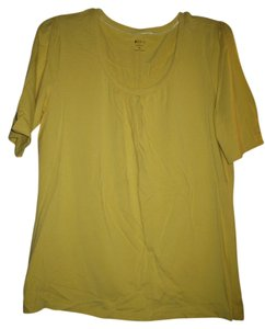 Apt. 9 T Shirt Yellow