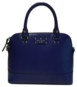 Kate Spade Michael Kors Small Satchel in Emperor Blue