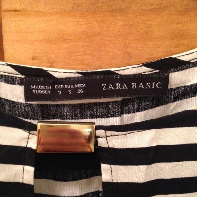 Zara short dress Black & White on Tradesy