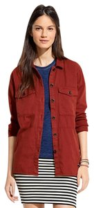 Madewell Burgundy Jacket