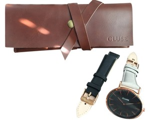 Cluse Cluse La Boheme Rose Gold Watch with Dual Strap