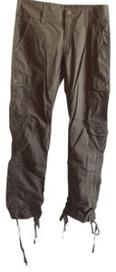 Anchor Blue Spring Summer Casual Midcalf Party Sweetheart Capris Brown