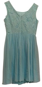 Antonio Melani short dress Light blue on Tradesy
