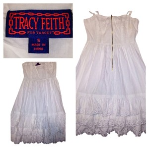 Tracy Feith short dress WHITE on Tradesy