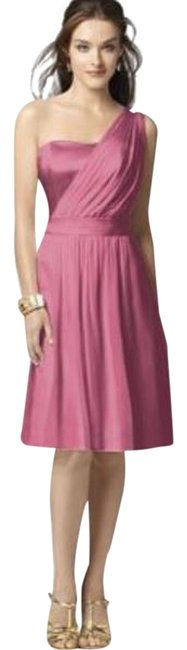 Item - Pink 2862 Mid-length Night Out Dress Size 6 (S)