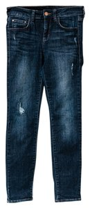 !iT Jeans Distressed Skinny Jeans-Distressed