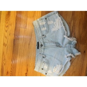 Forever 21 Cut Off Shorts Light blue