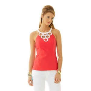 Lilly Pulitzer Top Island Coral