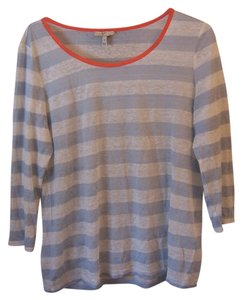 Joie T-shirt Linen Summer Casual T Shirt striped