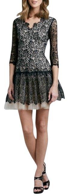 Preload https://img-static.tradesy.com/item/733877/black-and-nude-brooklyn-decker-34-sleeve-lace-short-cocktail-dress-size-6-s-0-3-650-650.jpg