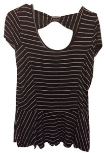 Lily Rose Top Black & White