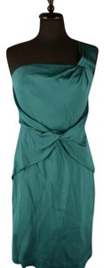 Banana Republic Party One Shoulder Silk Dress