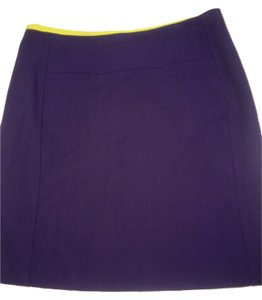 Ann Taylor LOFT Pencil Work Skirt Plum