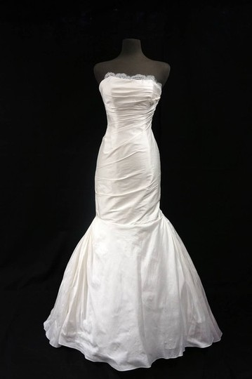Preload https://img-static.tradesy.com/item/734062/ines-di-santo-ivory-dupioni-silk-alba-gown-with-chantilly-lace-and-rouched-bodice-wedding-dress-size-0-0-540-540.jpg