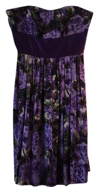 Preload https://item5.tradesy.com/images/plenty-by-tracy-reese-purple-strapless-silk-short-cocktail-dress-size-12-l-734084-0-3.jpg?width=400&height=650