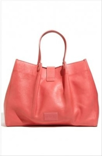 RED Valentino Playful Bow Leather Spacious Tote in Pink Image 3