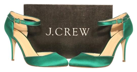Preload https://item5.tradesy.com/images/jcrew-jade-green-pre-owned-satin-ankle-strap-heels-warm-pumps-size-us-9-734159-0-0.jpg?width=440&height=440