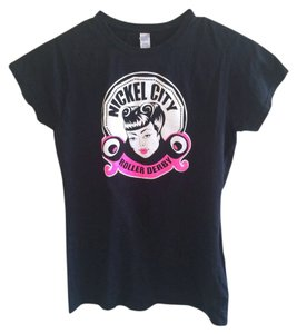 Gildan T Shirt Black