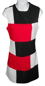 La Belle short dress BLACK/RED/WHITE Symetric Medium on Tradesy