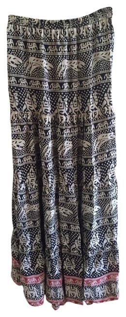 Tolani Skirt Black/white