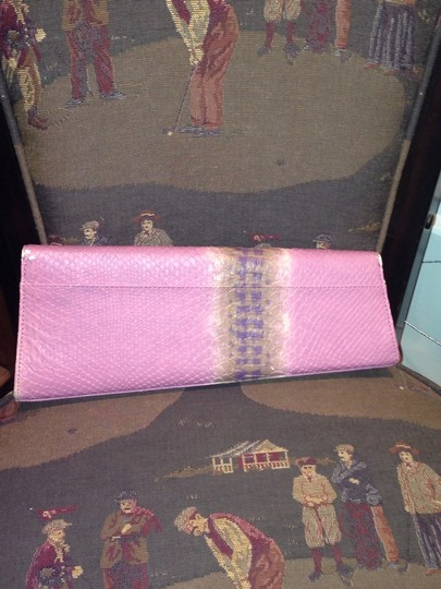 Other PALE PINK/BROWN TAN ACCENTS Clutch