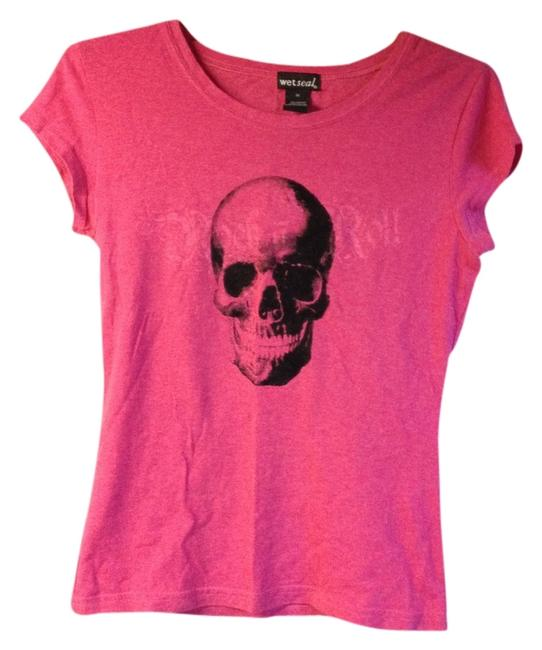Wet Seal T Shirt hot pink