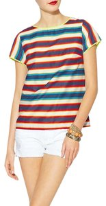 Pim + Larkin Top Stripe
