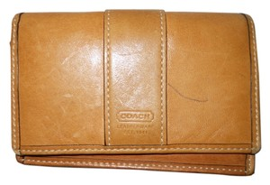 Coach Coach leather bi fold wallet