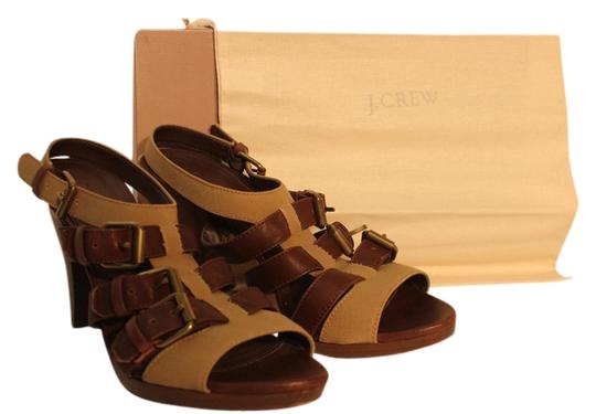 Preload https://item5.tradesy.com/images/jcrew-brown-wyatt-buckle-cone-heels-leather-and-canvas-stappy-wedges-size-us-9-regular-m-b-734479-0-0.jpg?width=440&height=440
